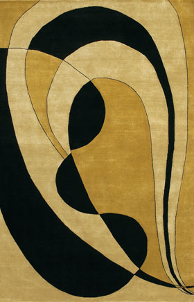 Contemporary Rugs Aadison Gold