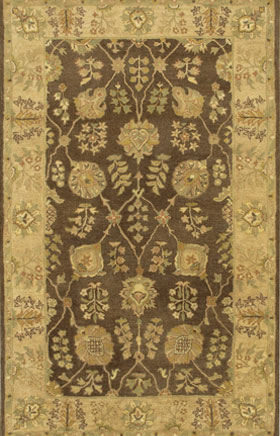 Oriental Rugs Adosian Tan Gold