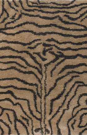 Animal Printed Rugs Amay Gold
