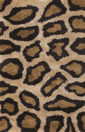 Animal Printed Rugs Amay Sand Brown