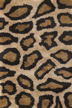 Animal Printed Rugs Amay Sand Brown