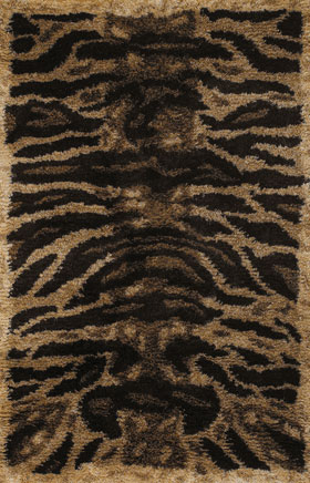Animal Printed Rugs Amay Brown