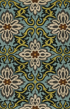 Floral Rugs Amyline Multicolor