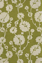 Floral Rugs Amyline Golden Green