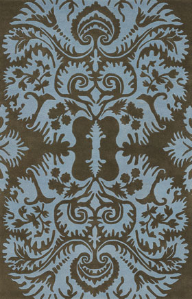 Floral Rugs Amyline Gold