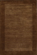 Solid Rugs Antenn Brown