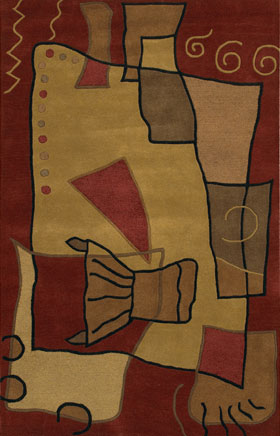 Solid Rugs Antenn Sand Brown