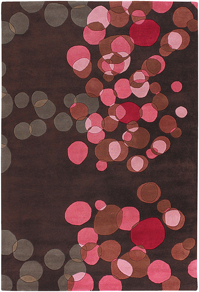Brown And Pink Living Room Decor: Buy Wool Area Rugs, Avani Collection, Hand-tufted