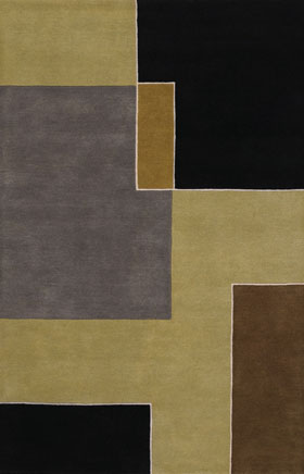 Contemporary Rugs Artesan Beige and Brown