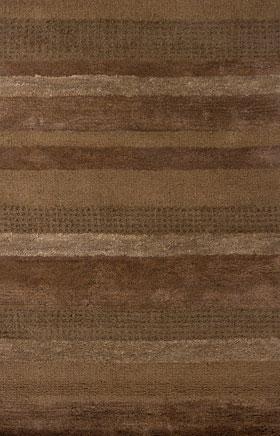Contemporary Rugs Deji Chocolate Brown