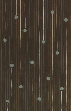 Contemporary Rugs Emmant Dark Brown