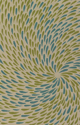 Contemporary Rugs Emmant Cream