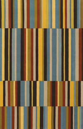 Contemporary Rugs Emmant Multicolor