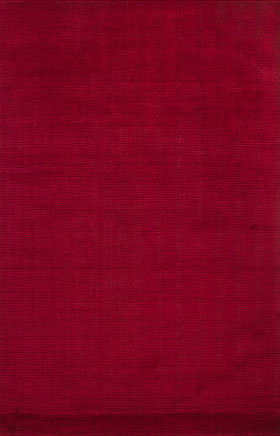 Solid Rugs Ferlock Red
