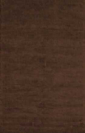 Solid Rugs Glorinsa Chocolate Brown