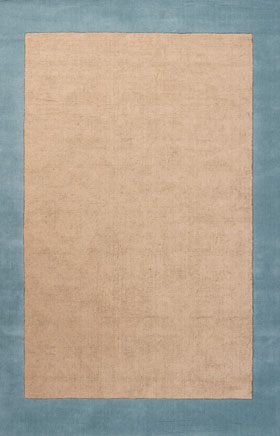 Contemporary Rugs Hicchi Blue
