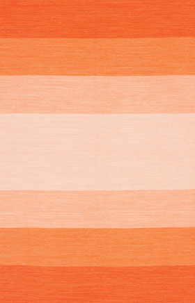 Braided Rugs Indoa Orange