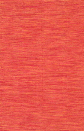 Braided Rugs Indoa Orange and Brown
