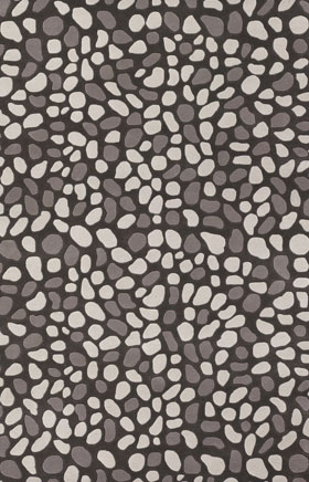 Contemporary Rugs Inhou Grey