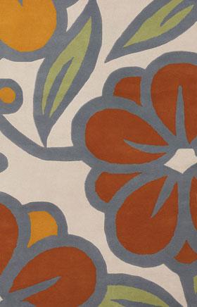 Contemporary Rugs Inhou Beige