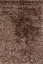 Shag Rugs Irissei Brown