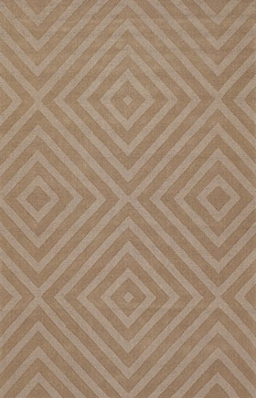 Solid Rugs Jaiho Brown and Beige