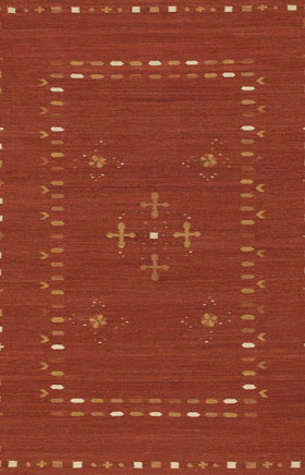 Southwestern Rugs Killimie Red