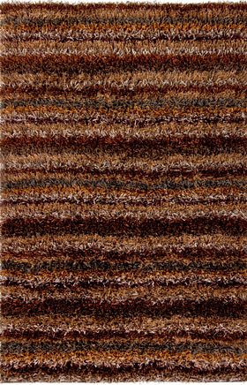 Contemporary Rugs Kubelli Brown