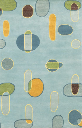 Contemporary Rugs LoLita MultiColor
