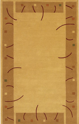 Contemporary Rugs Metopolitan Gold