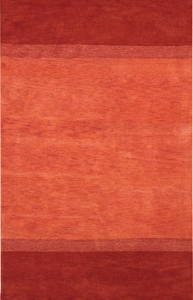 Contemporary Rugs Metopolitan Red