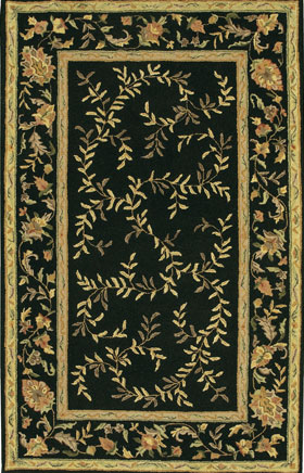 Contemporary Rugs Metopolitan Black