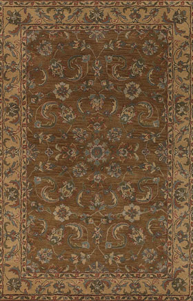 Contemporary Rugs Metopolitan Sand and Green