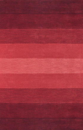 Contemporary Rugs Metopolitan Natural Red