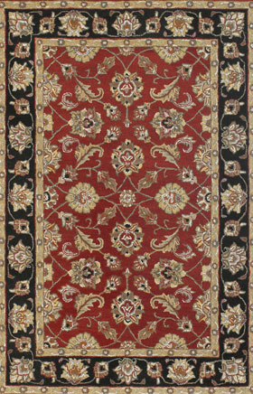 Contemporary Rugs Metopolitan Golden Green
