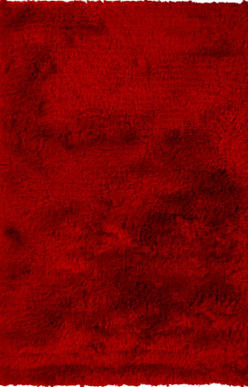Shag Rugs Nayacen Red