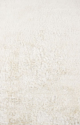 Shag Rugs Nayacen White