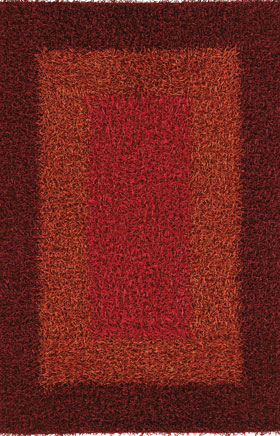 Shag Rugs Parmel Red