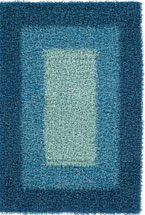 Shag Rugs Parmel Blue