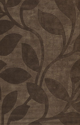 Transitional Rugs Pernmera Chocolate Brown