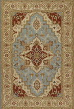 Oriental Rugs Poosa Beige and Ivory