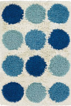Shag Rugs Roccin Multicolor