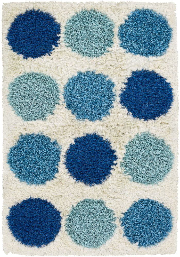 Rocco Collection Handmade Contemporary Shag Kids Rugs