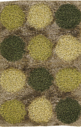 Shag Rugs Roccin Gold