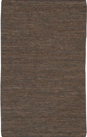 Natural Fibre Rugs Sakess Coffee Brown