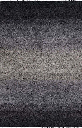 Contemporary Rugs Santos Black