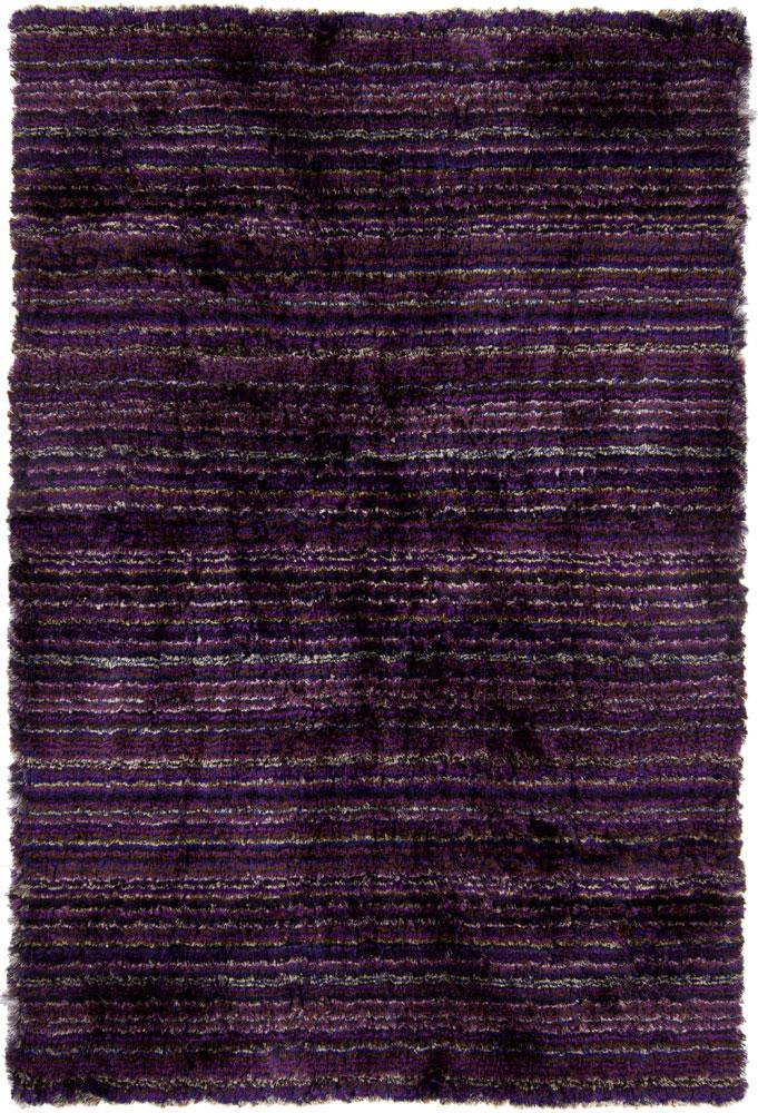 Shag Rugs Saverii Dark Purple Undefined