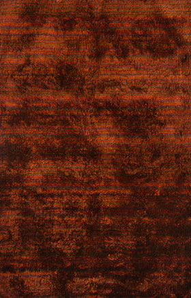 Shag Rugs Saverii Red