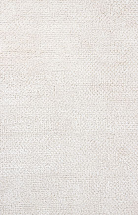 Shag Rugs Strass White