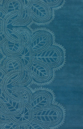Contemporary Rugs Taruot Blue